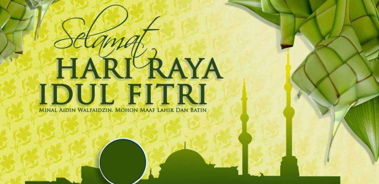 Selamat Hari Raya Idul Fitri 1436 Hijriyah