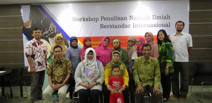 Workshop Penulisan Naskah Ilmiah Berstandar Internasional