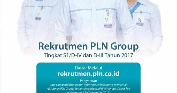 Lowongan PLN Profesi Teknologi Informasi 2017