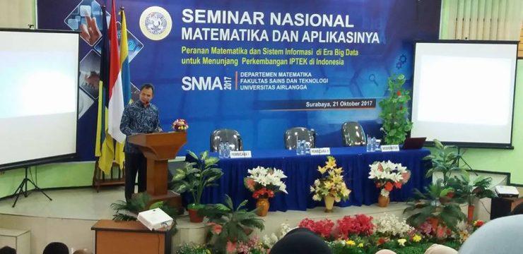 Seminar Nasional Matematika dan Aplikasinya 2017