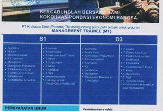 Lowongan PT. Krakatau Steel