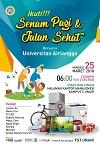 Senam Pagi dan Jalan Sehat bersama Universitas Airlangga Surabaya 2018