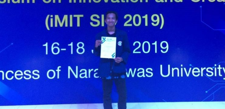 Digital Application for Farmer by UNAIR Student Wins Medal in Thailand